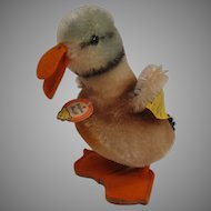 Steiff's Smallest Mohair Standing Duck With All IDs