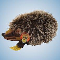 Steiff's Medium Sized Joggi Hedgehog With All IDs