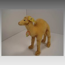 Steiff's Smallest Wool Plush and Velvet Camel With All IDs