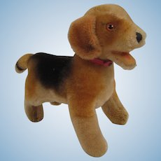 Steiff's Standing FAO Schwarz Exclusive Beagle With IDs
