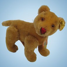 Steiff's Smallest Fully Jointed Young Lion With All IDs
