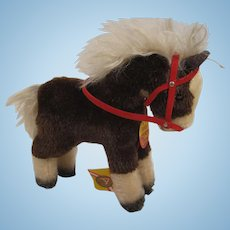 Steiff's Smallest Ferdy Pony With All IDs