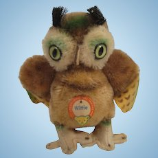 Steiff's Smallest Wittie Owl With IDs
