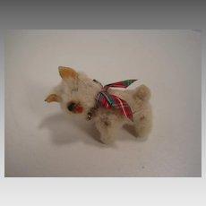 Schuco Miniature White Dog