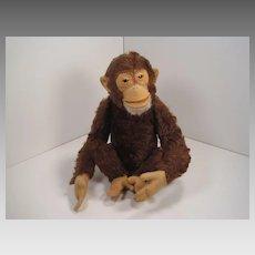 Steiff's Medium Sized Fully Jointed Jocko Monkey