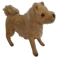 Late 1920's Era Standing Steiff Dog With ID