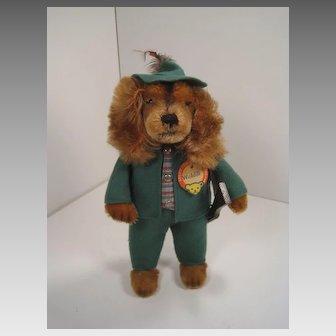 Steiff's Waldili Hunter Dog Doll With All IDs
