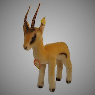 Steiff's Smaller Yuku Pronghorn Antelope With All IDs