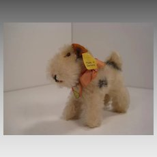 Steiff's Tiny 8 cm Foxy Fox Terrier With All IDs