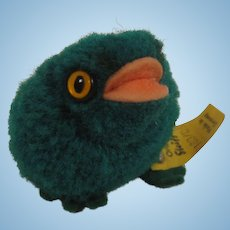 Steiff's Woolen Miniature Frog With All IDs