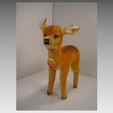 Steiff's Mohair Deer With All IDs