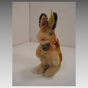 Steiff's Smallest Manni Bunny Rabbit With All IDs