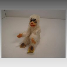 Steiff's Smallest Early Post War White Jocko Monkey With IDs