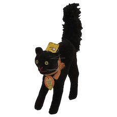 Steiff's Almost Smallest Black Scary Cat With All IDs
