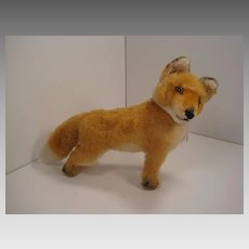 Steiff's Largest Sized Early Postwar Fox With All IDs