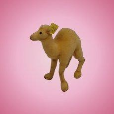 Steiff's Smallest Wool Plush and Velvet Camel With IDs