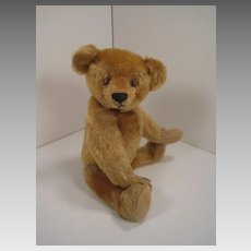 Delightful Early American, Fully Jointed Mohair Teddy Bear