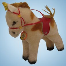 Steiff's Small Mohair Play Pony With All IDs