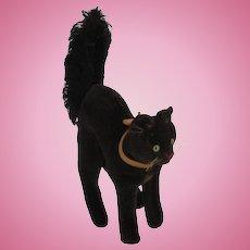 Steiff's Almost Smallest Black Velvet and Mohair Tom Cat