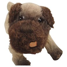 Cute as a Button Midcentury Farnell Pug Dog Puppy