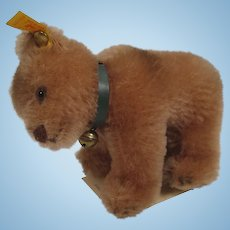 Steiff's Mohair Bear Cub on All Fours Replica With All IDs