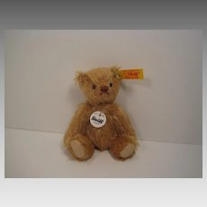 Steiff's Small Dark Blonde Teddy Bear With All IDs