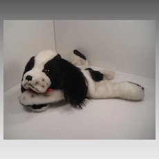 Steiff's Large and Totally Adorable Jolly Cockie Cocker Spaniel Hand Puppet With All IDs