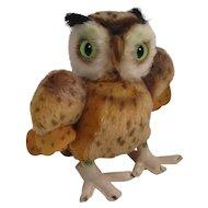 Steiff's Almost Largest Mohair Wittie Owl