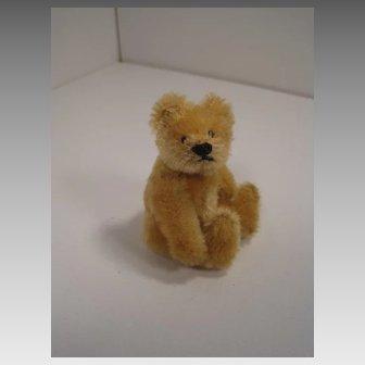 Steiff's Smallest, Fully Jointed Blonde 1950s era Original Teddy Bear
