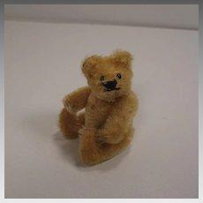 Steiff's Smallest Blonde Mohair Fully Jointed Early Postwar Teddy Bear