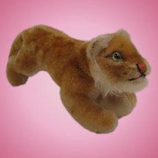 Steiff's Rare Early Postwar Running Lion Cub