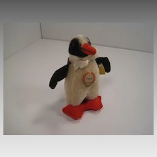 Steiff's Early Peggy Penguin With All IDs