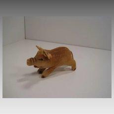 Steiff's Smallest Velvet Wild Boar With All IDs
