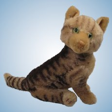 Steiff's Largest Early Post War Fully Jointed Kitty Cat