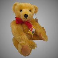 Steiff Sample US Exclusive Gold Teddy Bear With ID