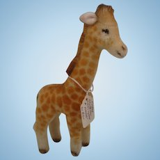 Steiff Prototype Giraffe With ID