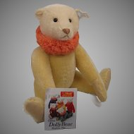 Steiff Production Mistake US Exclusive Pale Yellow Circus Dolly Bear With IDs