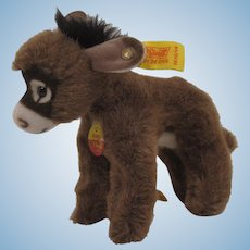 Steiff's Soft Plush Assy Donkey With All IDs