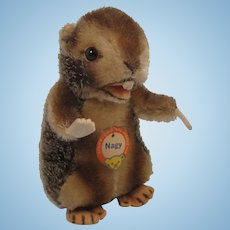 Steiff's Medium Sized Nagy Beaver With ID