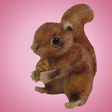 Steiff Medium Sized Mohair Perri Squirrel With ID