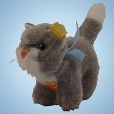 Steiff Soft Plush Kitty Cat With All IDs