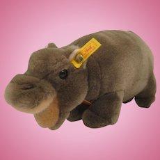 Steiff Soft Plush Mockili Hippo With All IDs