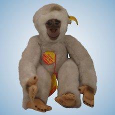 Steiff Soft Plush Hango Gibbon With All IDs
