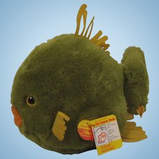 Steiff Largest Cosy Flossy Fish With All IDs