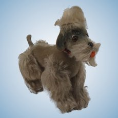 Steiff Small Grey Snobby Poodle With IDs