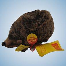 Steiff Medium Sized Joggi Hedgehog With All IDs