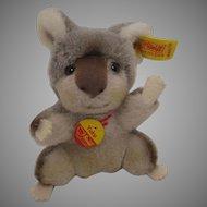Steiff Soft Plush Yuku Koala Bear With All IDs