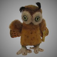 Steiff Smallest Wittie Owl With IDs