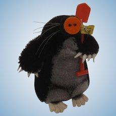 Steiff Mohair Maxi Mole With IDs