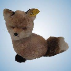 Steiff Soft Plush Snuffy Fox With IDs